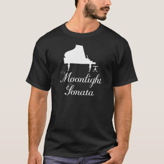 Moonlight Sonata Piano T-Shirt