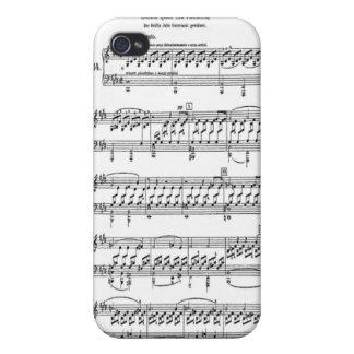 Moonlight Sonata Sheet Music iPhone 4 Case
