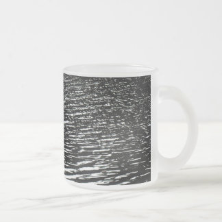 Moonlight sparkle Frosted 10 oz Frosted Glass Mug