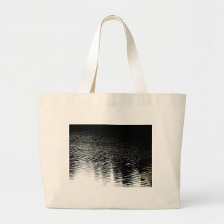 Moonlight sparkle tote bags