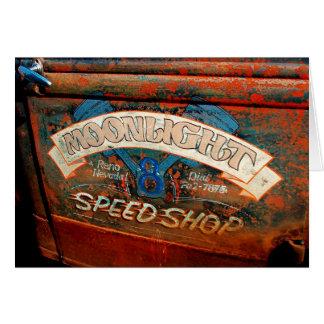 MOONLIGHT SPEED SHOP CARD