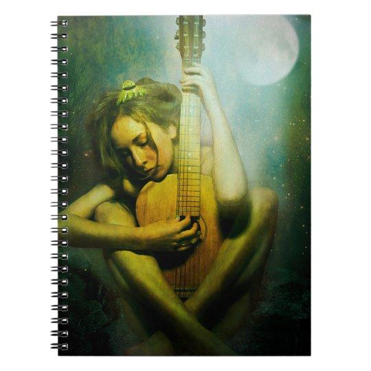 Moonlight Strings Notebook