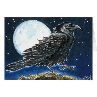 Moonlight Strut Greeting Card