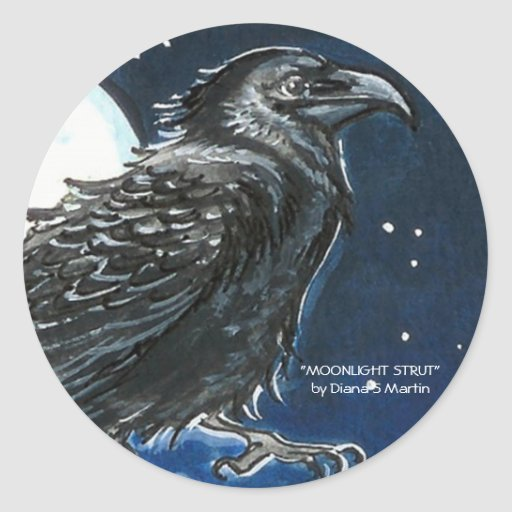 Moonlight Strut Stickers