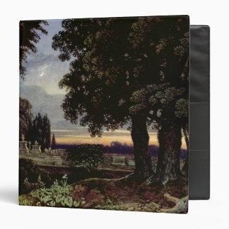 Moonlight, Thoughts in a Churchyard Vinyl Binder