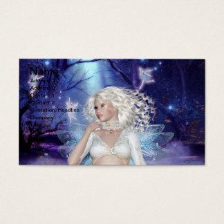 Moonlight Twinkle B Business Card Template