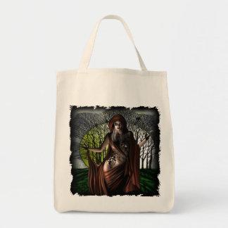 Moonlight Vamp - Organic Grocery Tote Tote Bag