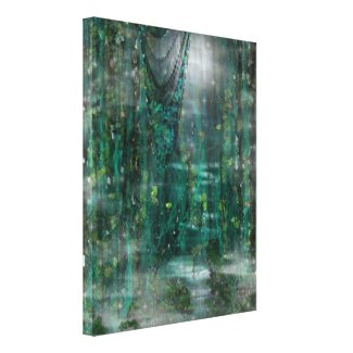 Moonlight & Vines Digital Dreamscape Art
