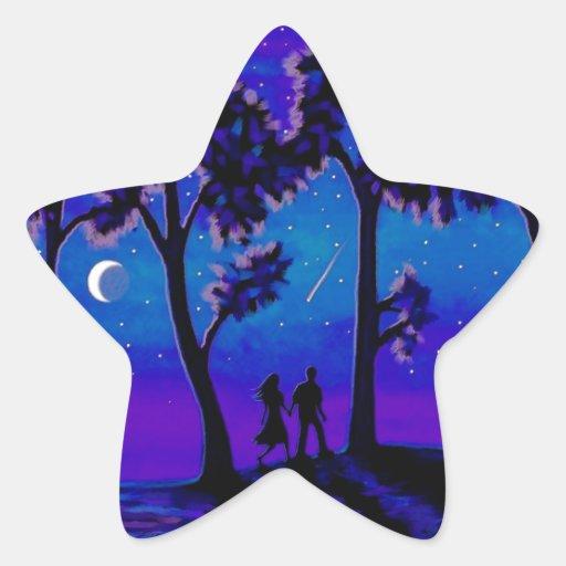 Moonlight Walk 1 Star Sticker