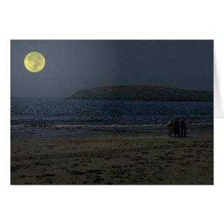 Moonlight Walk Card