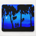 Moonlight Walk Mouse Pad