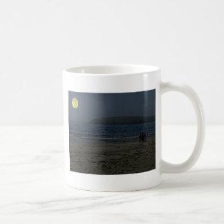 Moonlight Walk Classic White Coffee Mug