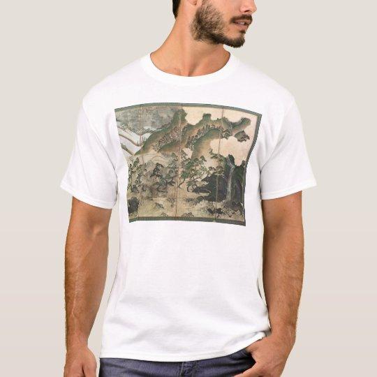 Moonlight Winter Landscape T-Shirt
