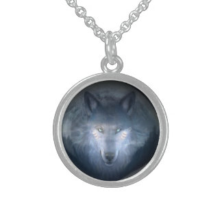 moonlight wolf necklace
