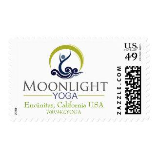 Moonlight Yoga Stamps