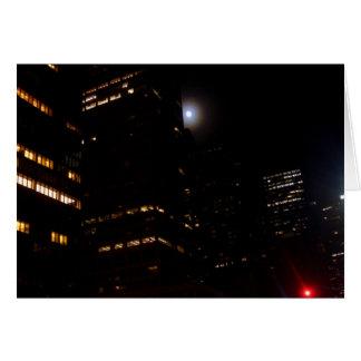 """Moonlighting New York City""  CricketDiane Art and Card"