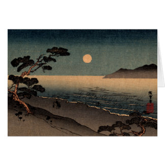 Moonlit Beach in Japan no.1 Card