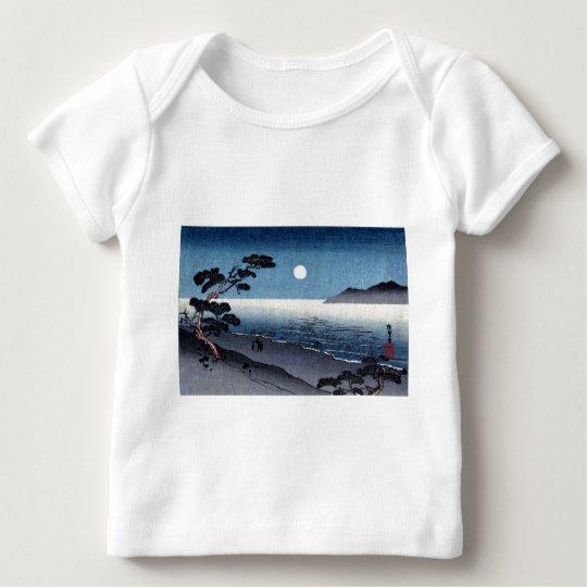 Moonlit Beach in Japan no.2 Baby T-Shirt
