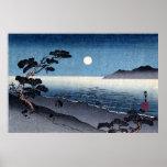Moonlit Beach in Japan no.2 Print