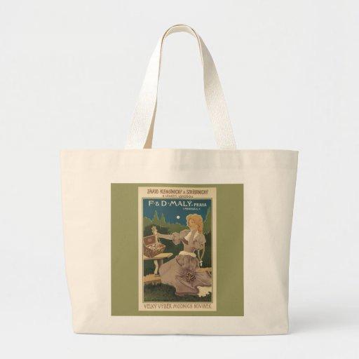 Moonlit Beauty beach tote Jumbo Tote Bag