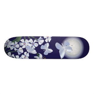 Moonlit Butterflies Skateboard