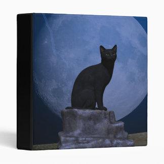Moonlit Cat Binder