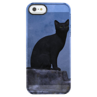 Moonlit Cat Uncommon Clearly™ Deflector iPhone 5 Case