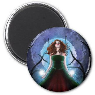 Moonlit Conjure Magnet