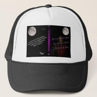 moonlit cover art trucker hat
