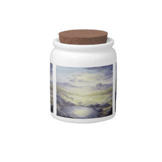 Moonlit Desert Candy Jar