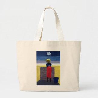Moonlit Evening 2001 Large Tote Bag