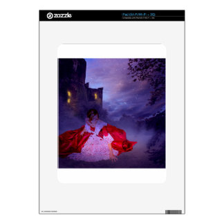 MOONLIT EVENING ~ OUTSIDE THE CASTLE WALLS DECALS FOR iPad