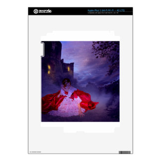 MOONLIT EVENING ~ OUTSIDE THE CASTLE WALLS iPad 3 DECALS