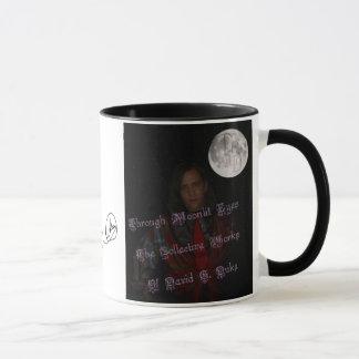 moonlit eyes cover art mug