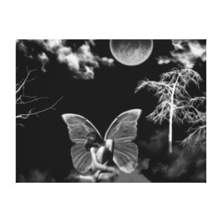 Moonlit Faerie Canvas Print