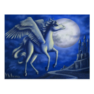 Moonlit Flight Postcard