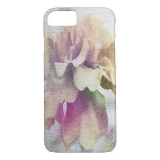 Moonlit Floral Abstract iPhone Cases