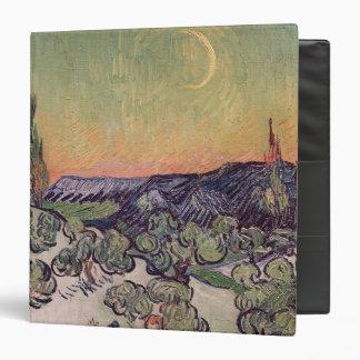 Moonlit Landscape, 1889 3 Ring Binders
