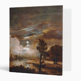 Moonlit Landscape by Aert Van Der Neer (1647) Binder