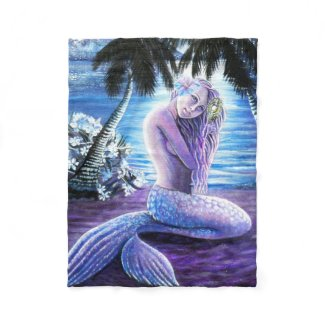 Moonlit Mermaid Blanket
