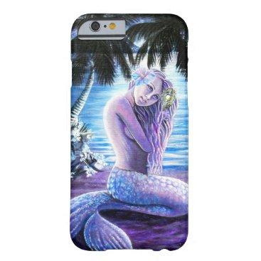 Beach Themed Moonlit Mermaid Phone Case