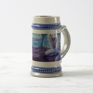 Moonlit Mermaid Stein