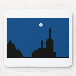 Moonlit Night Mouse Pad