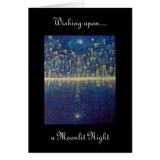 Moonlit Night Note Card