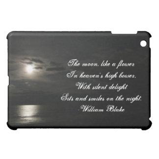Moonlit Night-with Quote iPad Mini Cases