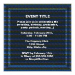 Moonlit night with ships sailing on the ocean 5.25x5.25 square paper invitation card