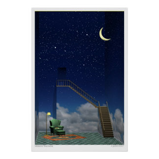 Moonlit Nocturne Posters