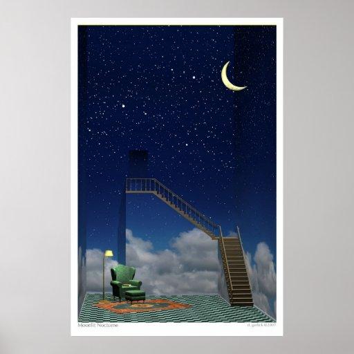 Moonlit Nocturne Poster