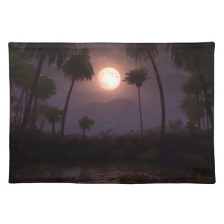 Moonlit Oasis Placemat