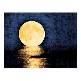 Moonlit Ocean Dream Postcard